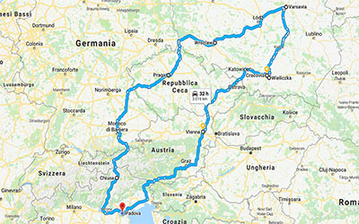 Itinerario Polonia