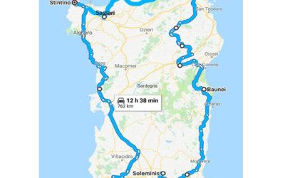 Sardegna: itinerario in moto di 7 giorni
