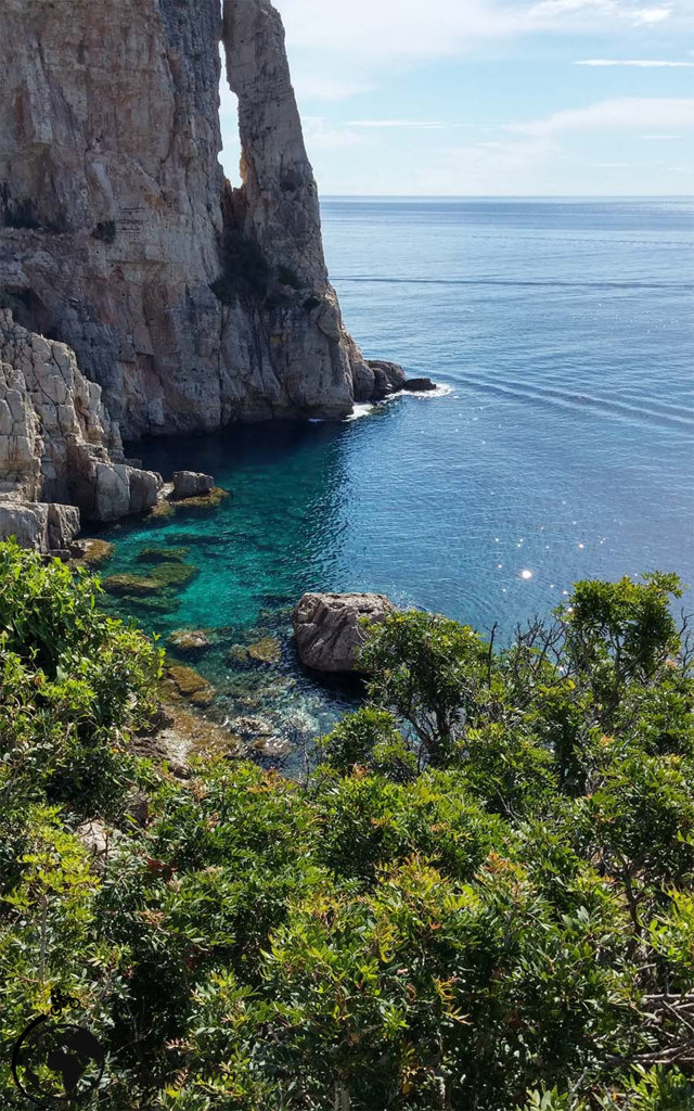 Panorama da Punta Pedra Longa