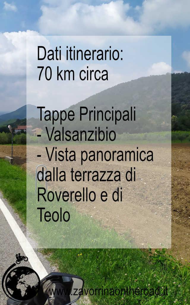 Dati tour panoramico in moto Colli Euganei